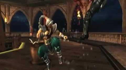 Mortal Kombat Armageddon Fujin's Kombat Card