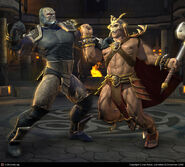 Darkseid vs Shao Kahn