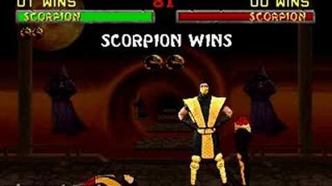 Mortal Kombat II - Fatality 1 - Scorpion-1