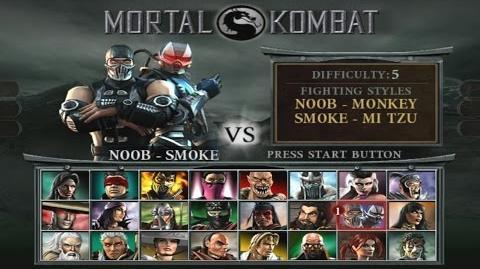 Mortal Kombat Deception - Arcade Playthrough (PS2)