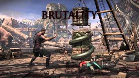 Kung Lao Brutality 4 - Grind Away