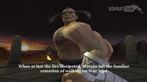 MK-Armageddon Ending- Motaro