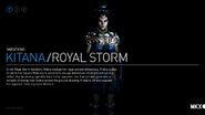 Kitana Royal Storm Variation