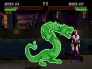 Liu Kang Dragon Animality