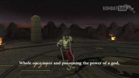 MK-Armageddon Ending- Liu Kang