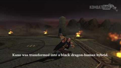 MK-Armageddon Ending- Kano