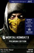 MKX premium Edition on PSN
