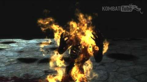 "MK9 Scorpion ""Toasty"" Fatality"