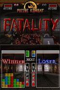 Fatality puzzle kombat