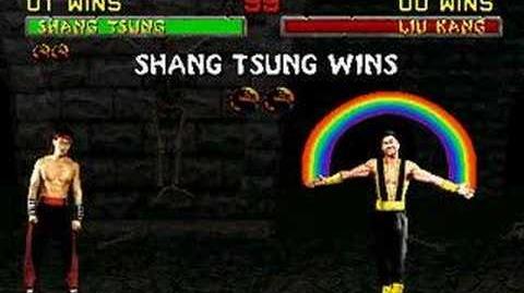 Mortal Kombat II - Friendship - Shang Tsung