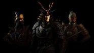 Mortal Kombat X Samurai Skin Pack