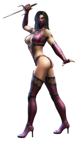 File:Mileena Official Render transparente.png