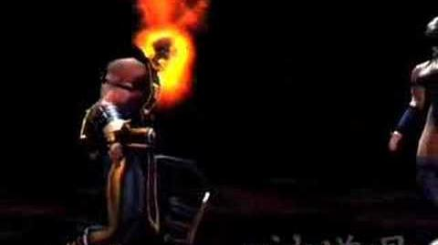 Mortal Kombat Shaolin Monks Scorpion's Fatality 1