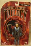 Sub Zero Trilogy figure carded