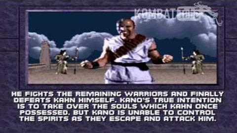 MK III Ending- KANO (MK1)