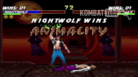 MK III Nightwolf Animality
