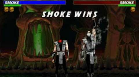 Mortal Kombat Trilogy - Fatality 2 - Human Smoke