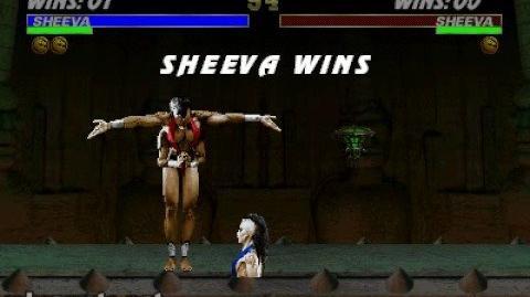 Mortal Kombat 3 Fatality 1 - Sheeva