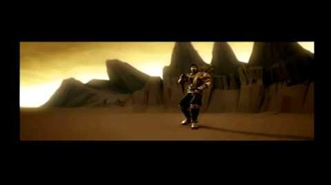 Mortal Kombat Armageddon - Scorpion test movie