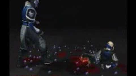 Mortal Kombat Deception Sub-Zero Fatality 2