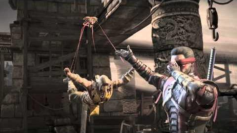 MKX Kenshi My Puppet Fatality