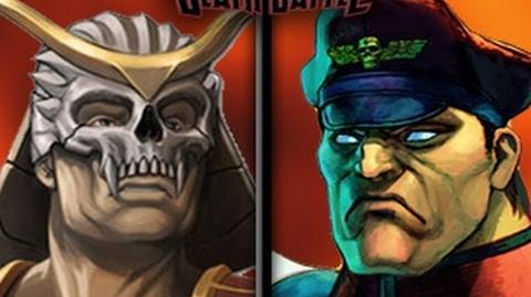 DEATH BATTLE! - Shao Kahn VS M. Bison