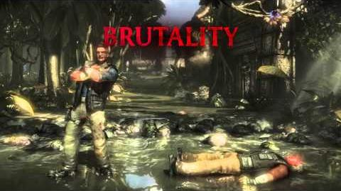 Johnny Cage Brutality 3 - Wow Out