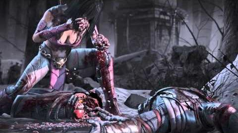 MKX Mileena Tasty Treat Fatality