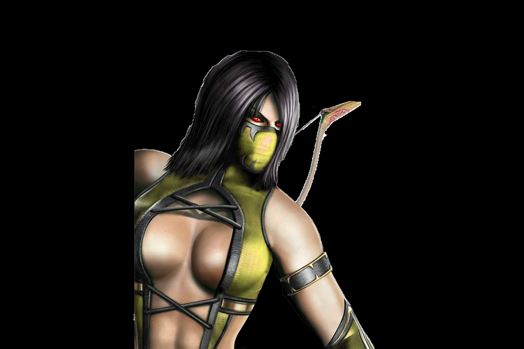 Mortal kombat 9 smoke and jade