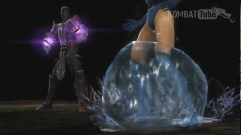 MK9 Rain Does It Sting Fatality