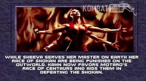 MK III Ending- SHEEVA