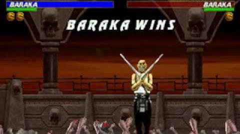 Mortal Kombat Trilogy - Brutality - Baraka