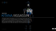Kitana Assassin Variation. Elegant execution.