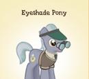 Eyeshade Pony