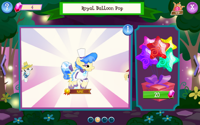 Royal Balloon Pop