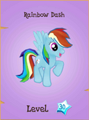 Rainbow Dash store locked