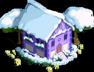 Shining Armor's House Winter-Ponyville