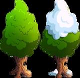 Canterlot Pointy Tree