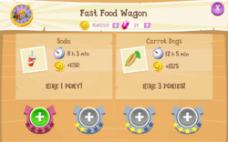 Fast Food Wagon Products
