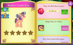 Stubborn Crystal Pony album