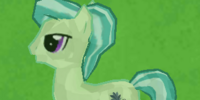 Green Crystal Pony