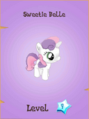 Sweetie Belle Store Locked