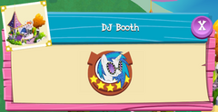DJ Booth (Canterlot) residents