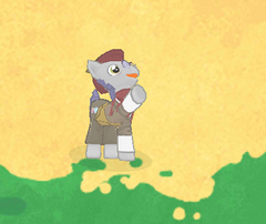 Curio Shopkeeper Character