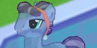 Indigo Crystal Pony
