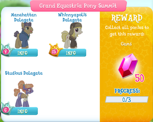 Grand Equestria Pony Summit