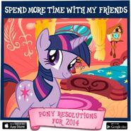 Pony Resolutions 2014 Twilight Sparkle