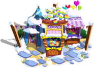 Balloon Pop Stand Winter