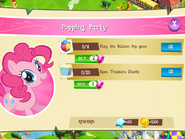 Popping Party tasks