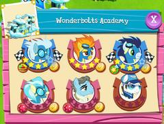 Wonderbolts Academy residents